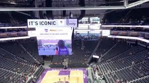 Golden 1 Center Basketball Seating Chart Golden 1 Center Hype Is Real Sacramento Kings