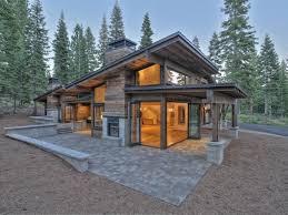 exterior mountain modern beautiful small house design