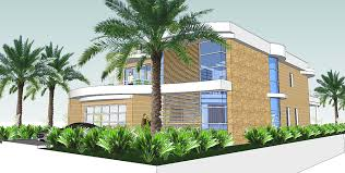 Luxury dream house on narrow lot house plans