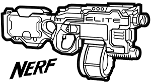 Small Picture Nerf N Strike Elite Hyperfire Blaster Learning Coloring Pages