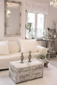 shabby chic furniture living room. Shabby Chic Whitewashed Chest And A Framed Mirror For Living Room Decor Furniture