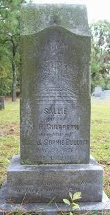 Sallie Bullock Culbreth (1851-1916) - Find A Grave Memorial