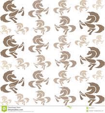De Beelden Van Het Behang Van Paard Vector Illustratie Illustratie