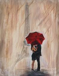 couple under umbrella art on girl with umbrella wall art with couple under umbrella art fine art america