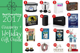 holiday gift ideas giveaway real