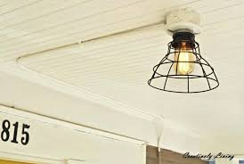 how to install a ceiling light without existing wiring ceiling light without electrical wiring awesome how