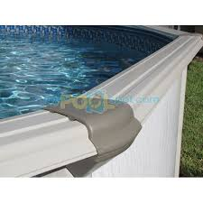 24 x52 caribbean round pool top cap with top rail