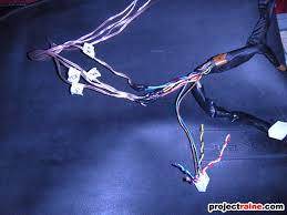 how to sc300 sc400 install aftermarket head unit oem speakers as for the amp turn on wire we ll get to it in section i below now about the rest of the wires harnesses that were attached to the oem main amp