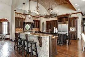 Tiled ceilings are not common in Mediterranean kitchens but they can be a  great way to