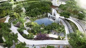 The Formation Urban Design Landscape Architecture Interiors Structures Marina One Ingenhoven Architects Gustafson Porter
