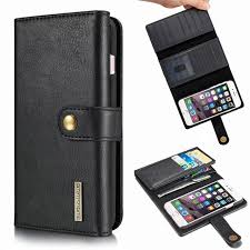 luxury retro leather wallet case for apple iphone 8 hard back cover iphone 8 plus mobile phone case with card holder flip coque
