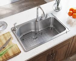 T346 Offset Single Bowl Topmount Stainless Steel Sink