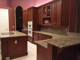 Kitchen Granite Countertops Santa Cecilia Granite Countertops Installation Kitchen