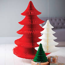 Tissue Paper Christmas Tree Decoration - winter sale