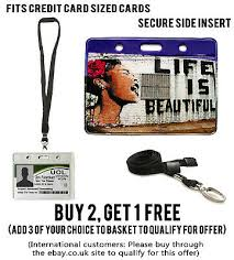 life s beautiful id badge holder