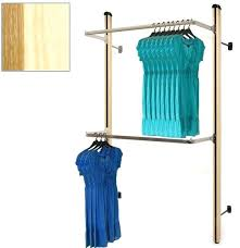 wall mount garment rack wall mount display unit wall mounted coat rack with folding hooks wall