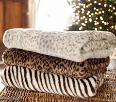 Animal Print Throws And Blankets