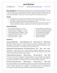Cover Letter Pr Resume Samples Public Relations Resume Sample Pr