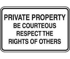 essay on respecting others property