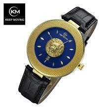 Lion Head <b>Watch Men</b> Rose Gold <b>Watch Men Top</b> Famous Brand ...