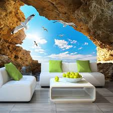details about 3d wallpaper blue sky white clouds mural for living room bedroom ceiling modern
