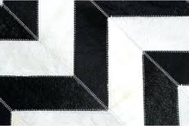 black cowhide rug hair on hide detail of and white chevron patchwork speckled black cowhide rug west and white zebra