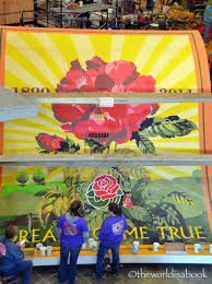 Rose Bowl Float Decorating Viewing the 60 Rose Parade Float Decorating The World Is A Book 33