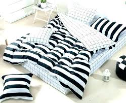 rugby stripe quilt cover bedding black and striped amazing sets superb vertical