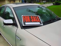 For Sale Sign On Car How To Sell A Used Car On Autotrader Jerry Advice
