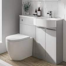 Bathroom Vanity Units With Basin And Toilet 1000mm Artcomcrea