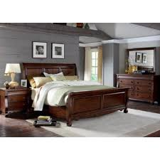 Liberty Furniture Industries Inc. Sinclair 428 BR 7 Pc Queen Sleigh Bedroom  Set