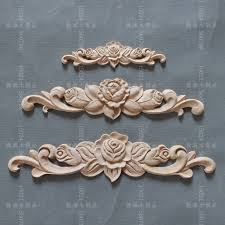 wood furniture appliques. Dongyang Wood Carving Applique Furniture Home Diy Fashion Small Accessories Kitchen Cabinet Door Bed Rose-in Statues \u0026 Sculptures From Garden On Appliques