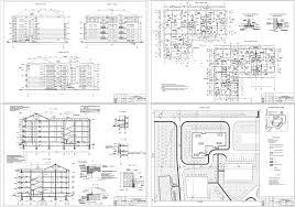 Курсовые и дипломные проекты Многоэтажные жилые дома скачать  Дипломный проект 4 х этажный 16 квартирный жилой дом индивидуальной планировки 38
