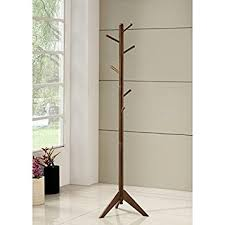 Mid Century Modern Coat Rack Amazon MidCentury Modern Coat Rack Brown Kitchen Dining 2