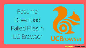 How To Resume Download Failed Files In Uc Browser Fixed