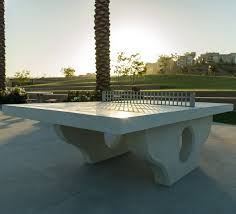 Outdoor ping pong table / for public spaces - Q-PP