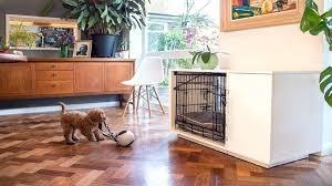 best dog crate furniture kennel diy wooden
