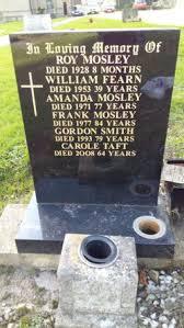 Mrs Amanda Kaye Mosley (1894-1971) - Find A Grave Memorial