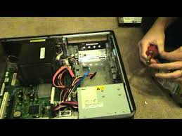 how to replace a hard drive in a dell optiplex 755