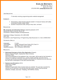 It Intern Resume 100 sample intern resumes lease letter 64