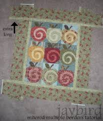 mitered multiple borders tutorial - {quilting basics tutorial ... & mitered multiple borders tutorial - {quilting basics tutorial series} Adamdwight.com