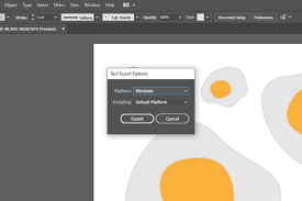 Each one opens up a different set of options and selectors. Illustrator Tutorial How To Export Non Native Formats Ii Creative Fabrica