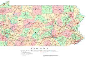 pennsylvania elevation map