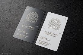 Unique Bilingual Black And White Business Card Template
