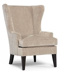 Martha Stewart Collection Saybridge Fabric Accent Wing Chair