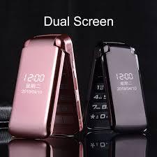 Flip Camera Charging Light Mafam Dual Display Flip Mobile Phone For Senior Sos Fast