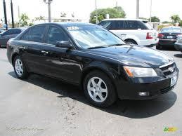 2006 Hyundai Sonata GLS V6 in Ebony Black - 007429 | Jax Sports ...