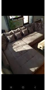 Wohnlandschaft Couch Sofa Bigsofa Taupe In 56626 Andernach
