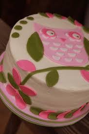Easy Owl Infant Shower Quarter Sheet CakeOwl Baby Shower Cakes For A Girl
