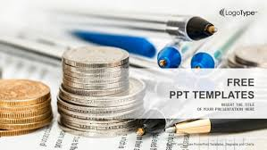 Powerpoint Financial Coins With Financial Statement Powerpoint Templates